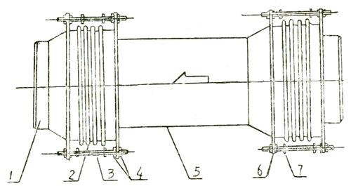 煤粉管道新型三向波纹膨胀节-江苏远盛机械有限公司